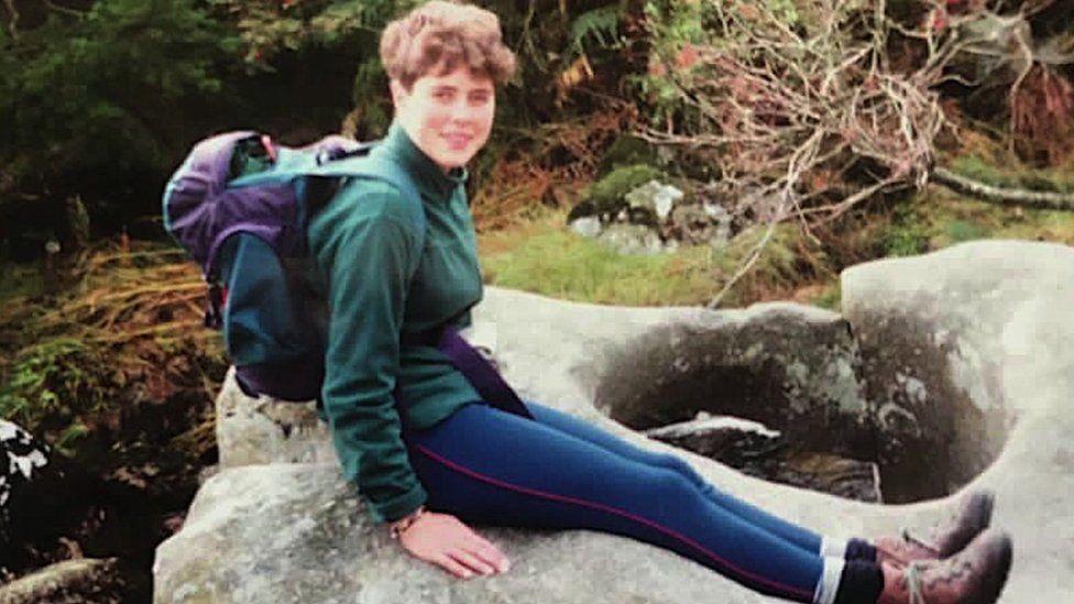 Julia Lewis on Silver DofE training, Dartmoor 1990