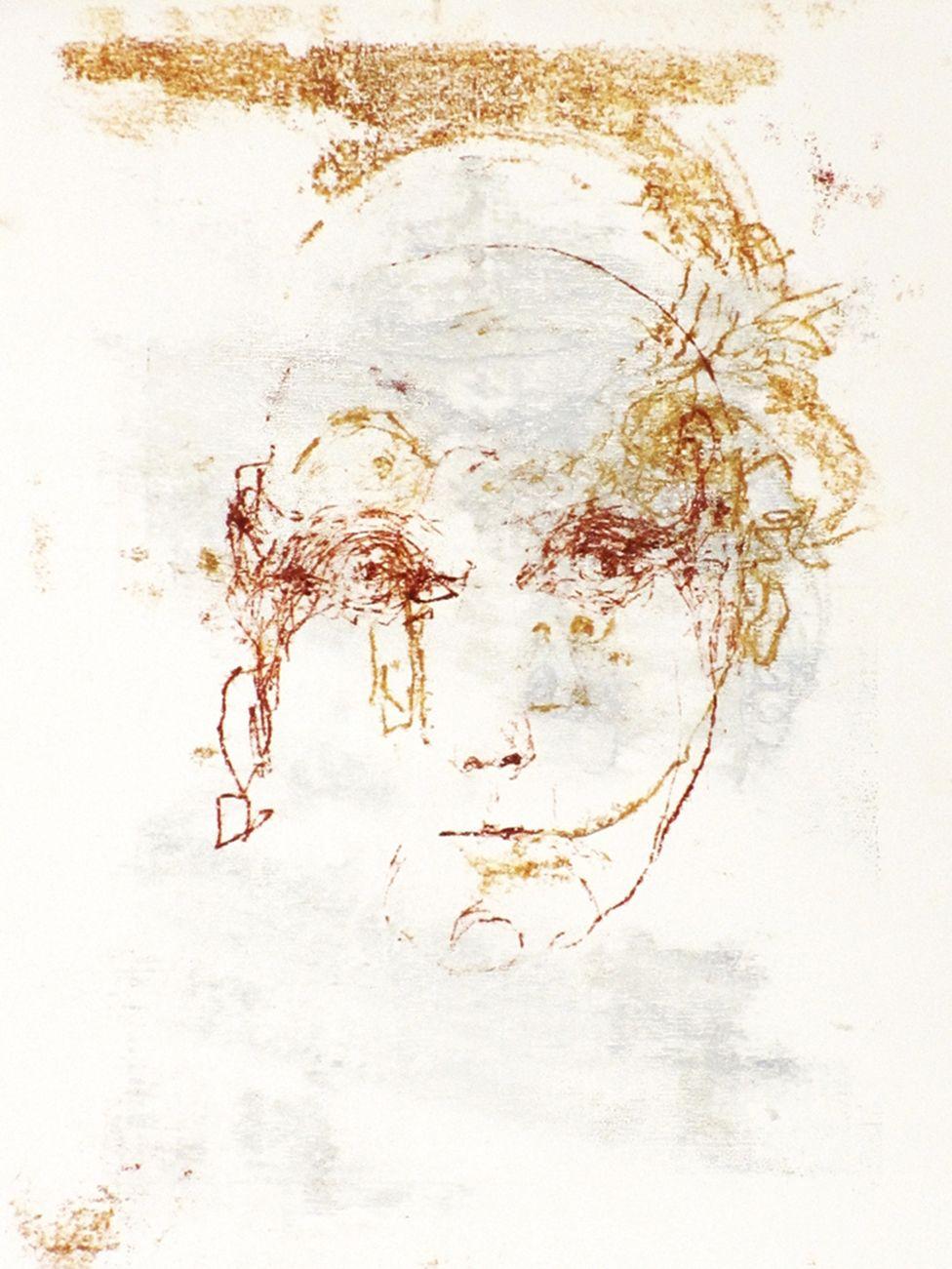 self-portrait by Carlotta