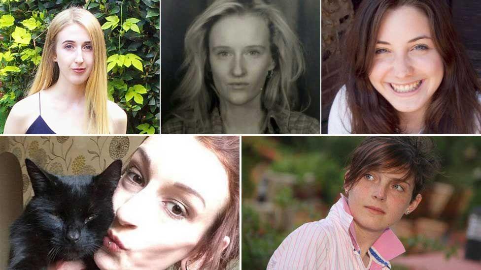 Maddy Wallace, Many Bowles, Averil Hart, Maria Jakes and Emma Brown