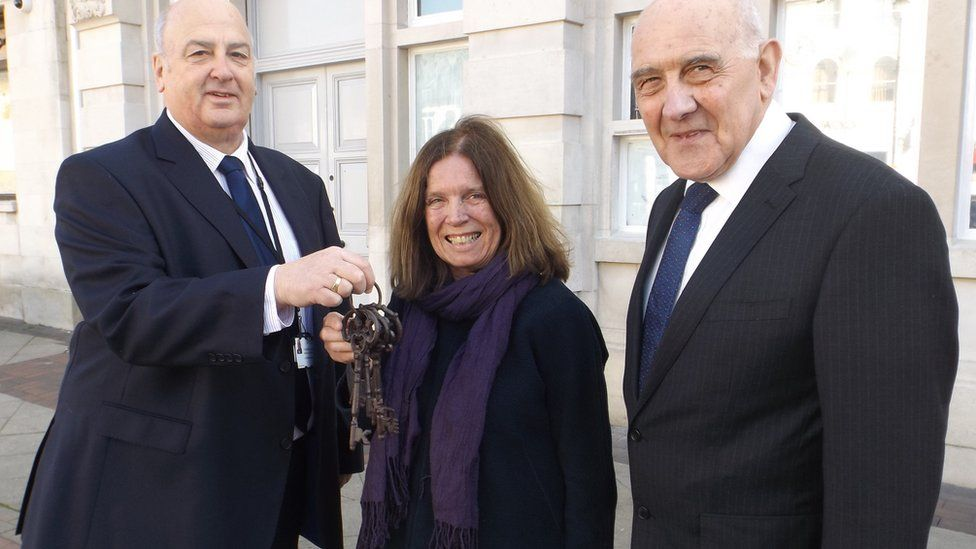 Nick Gowrley, Sheila Ravenscroft and Gerard Brewster