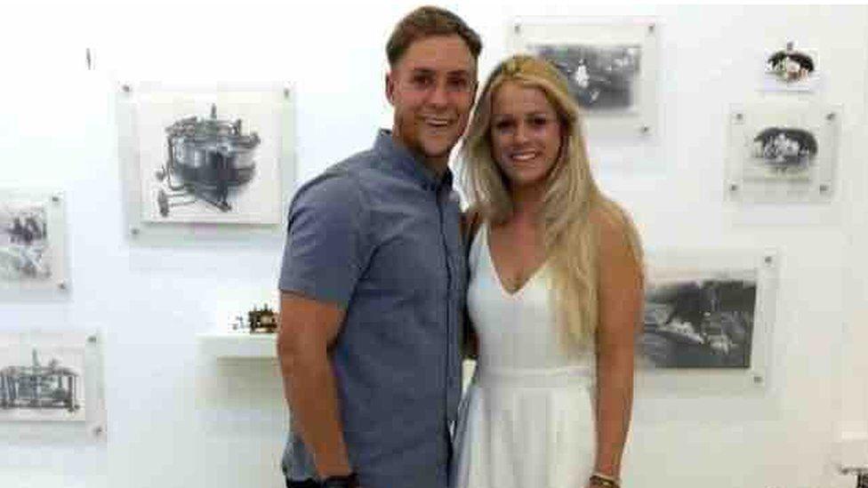 Jason Francis and Alice Robinson