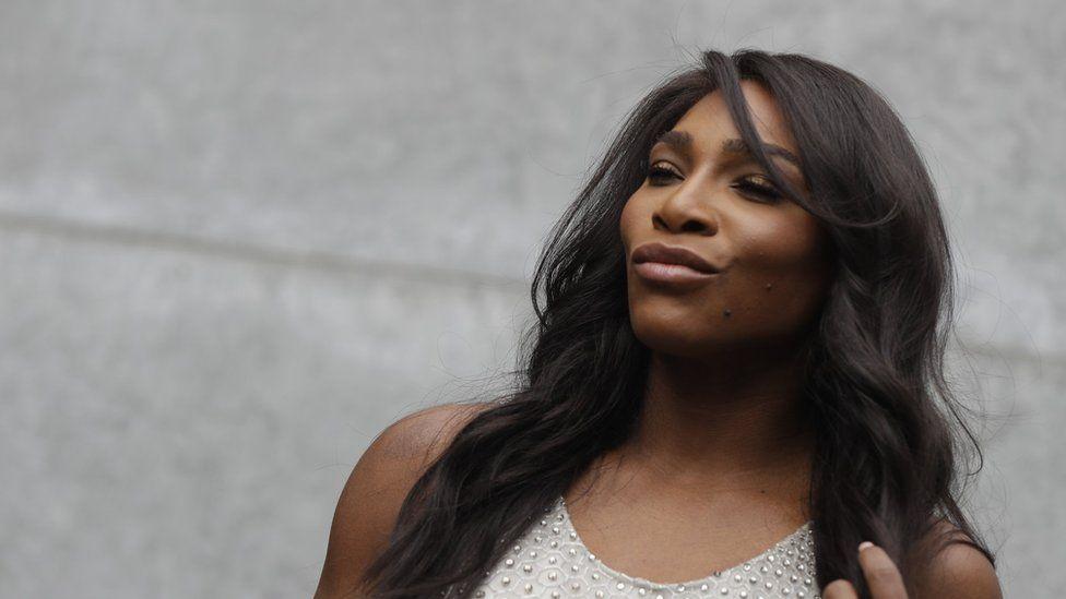US tennis star Serena Williams