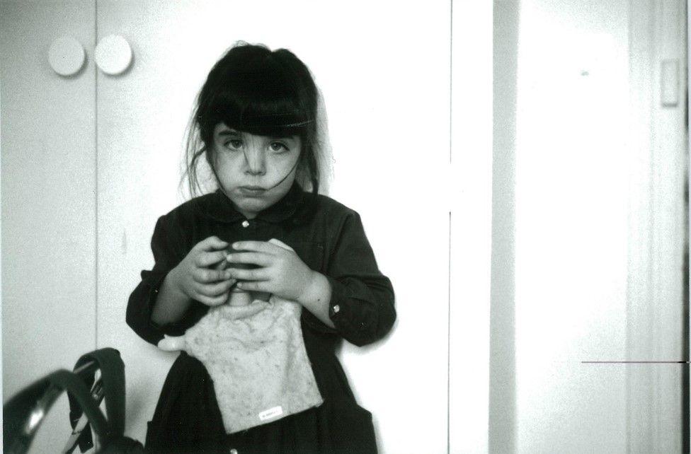 Margot Noel as a child