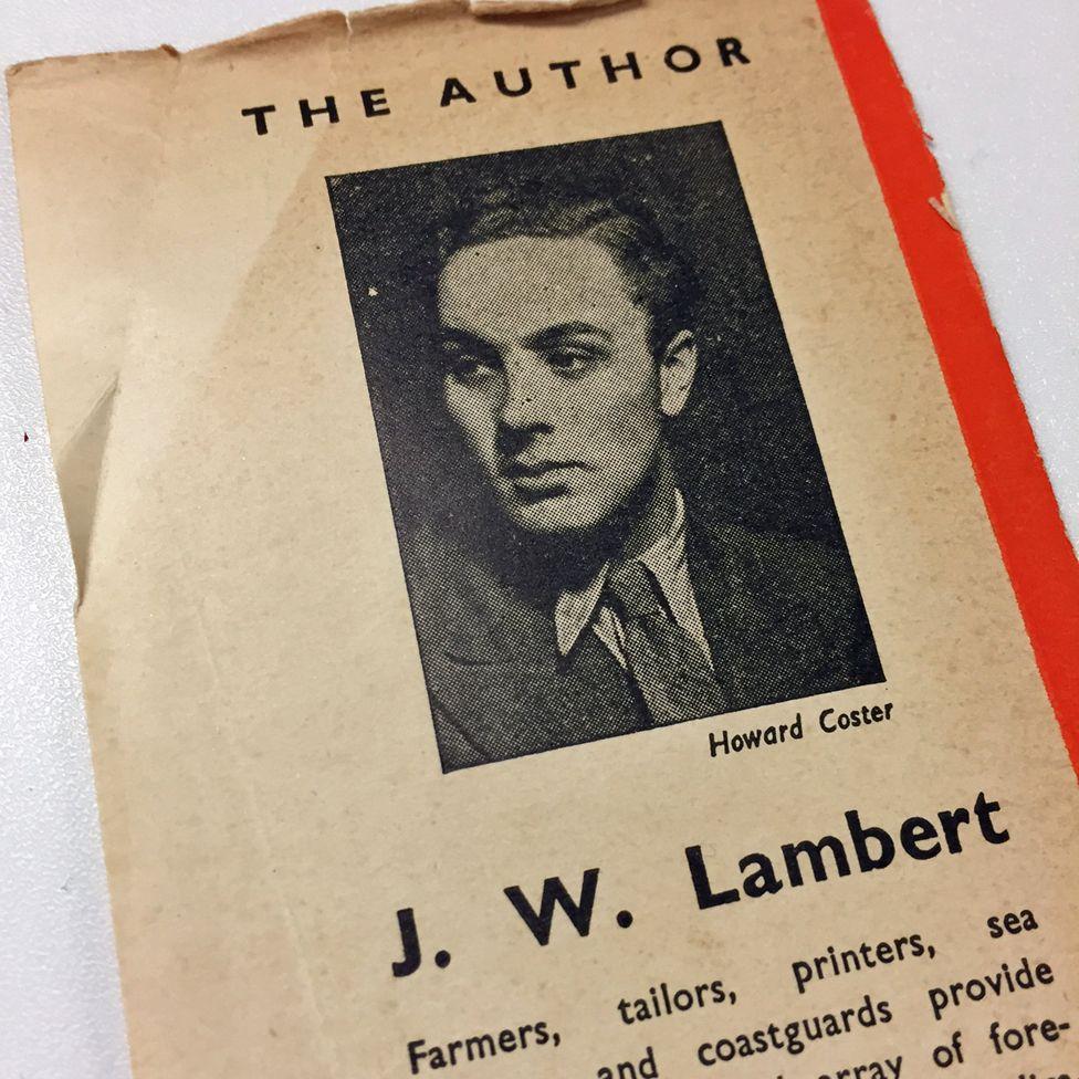 The author, J W Lambert