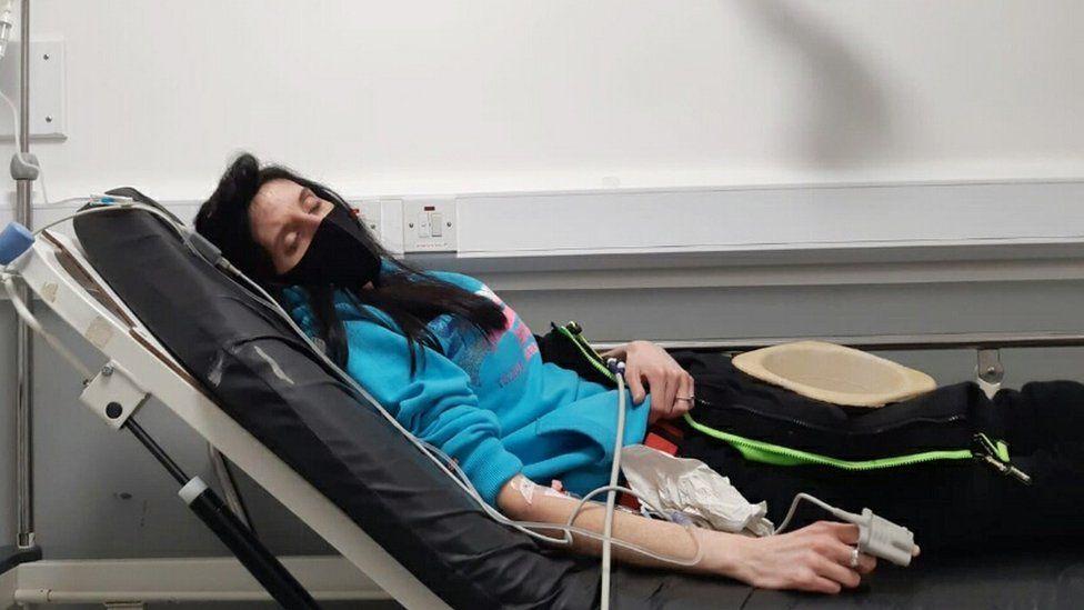 Rebecca Bostock, hospital