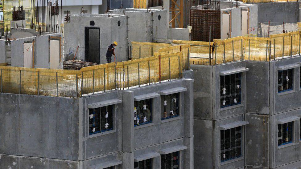 Building site in Singapore