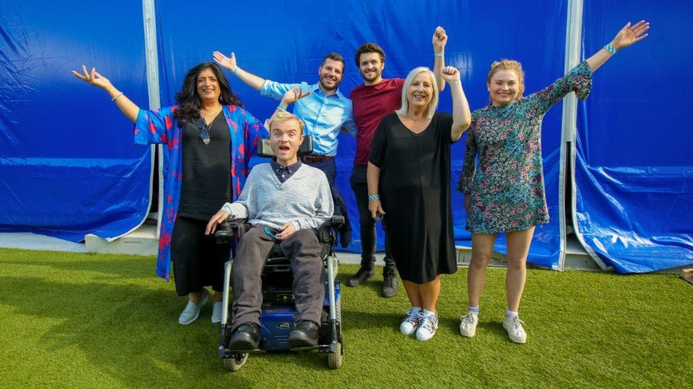 The 2019 storytellers from BBC Ouch: Storytelling Live