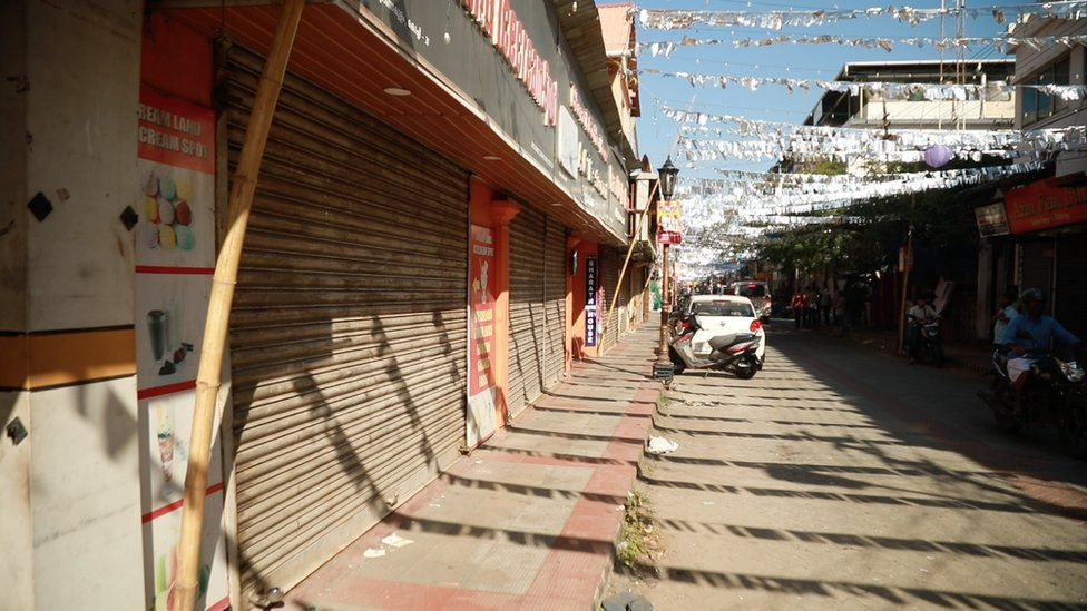 Shops across Kerala have been closed.
