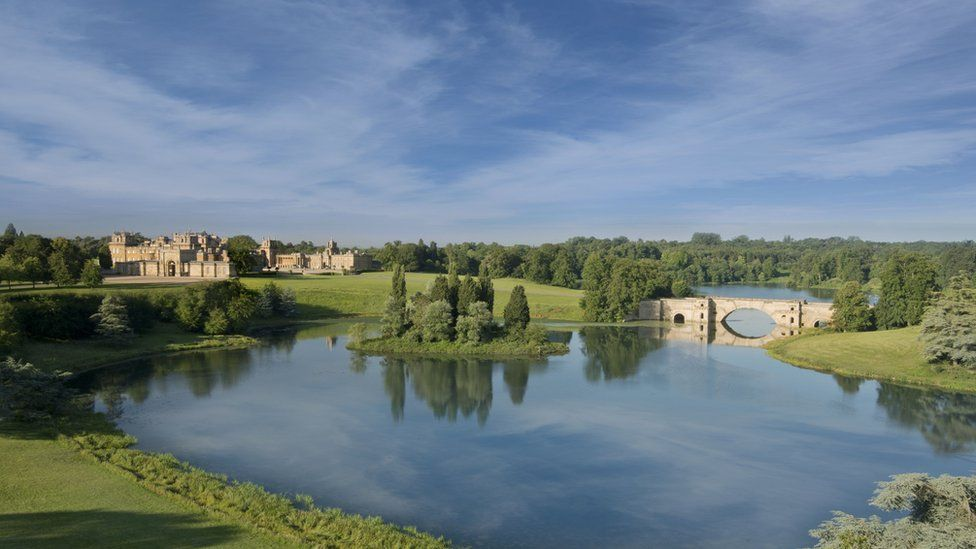 'Finest view' at Blenheim