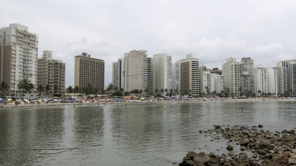 View of Guaruja, Sao Paulo