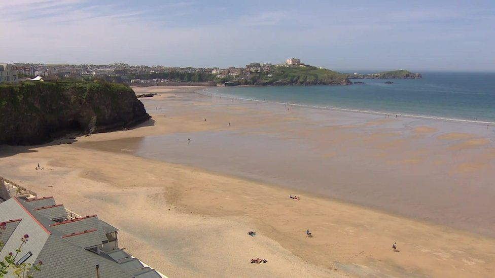 Newquay at the weekend