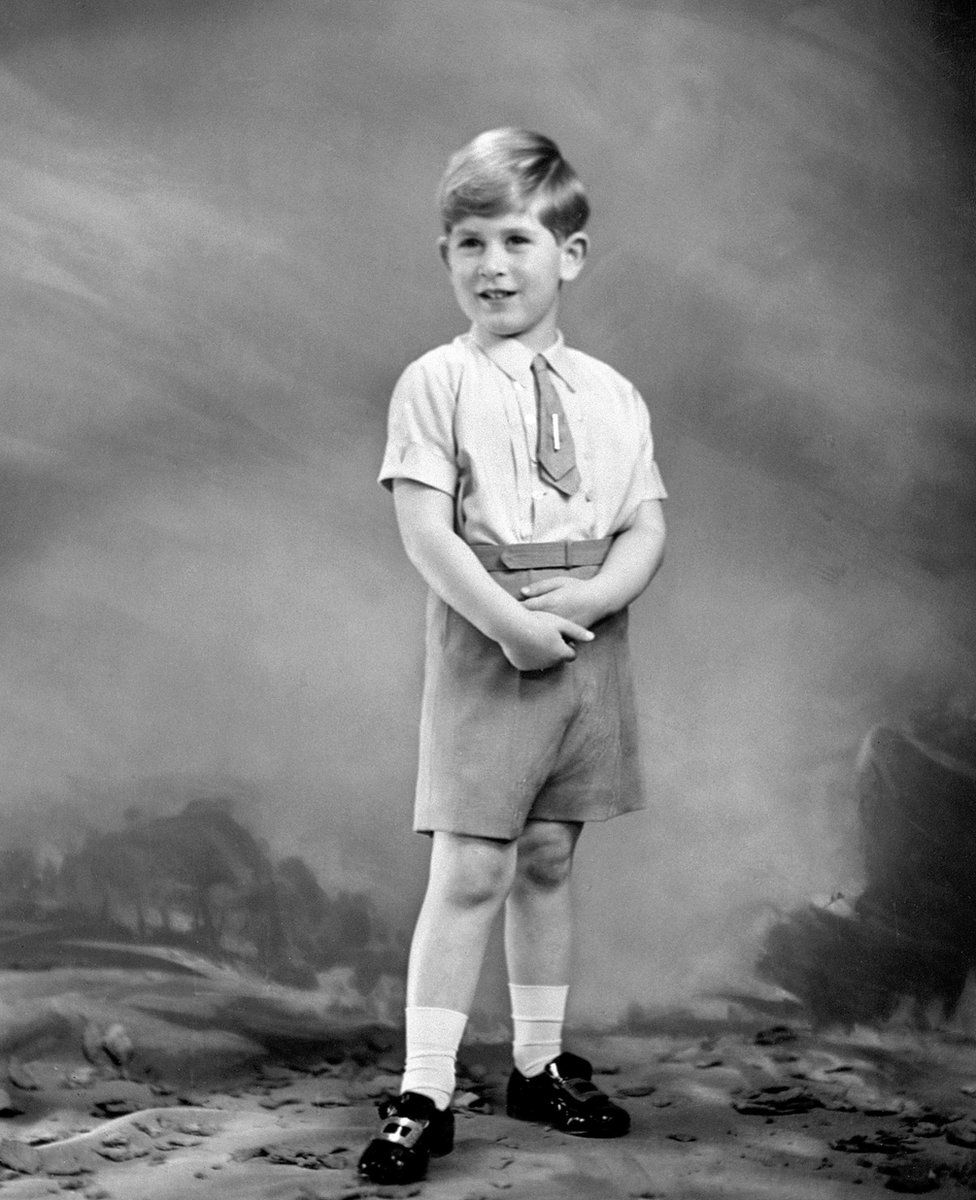 Prince Charles aged 5