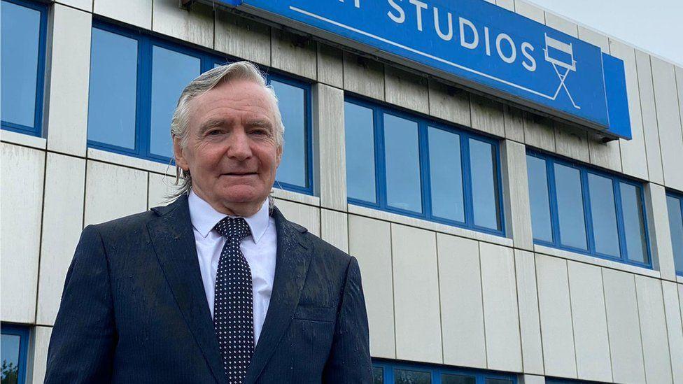 Roy Thomas, owner of Bay Studios in Swansea