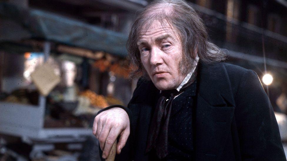 Albert Finney in Scrooge