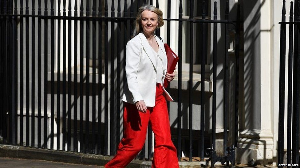Treasury Secretary Liz Truss