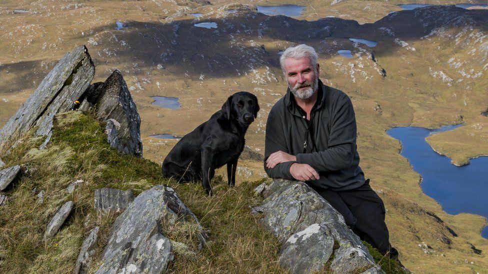 David Houston and his dog Gill
