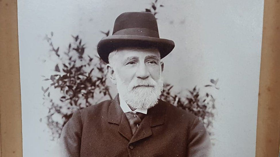 David Odell's great grandfather