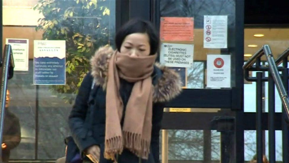 Defendant Chuanfang Zheng at Leicester Crown Court