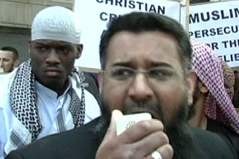 Michael Adebolajo and Anjem Choudary