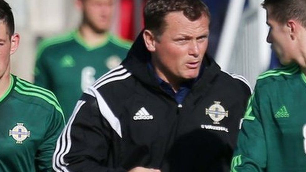 Jim Magilton won 52 caps with Northern Ireland