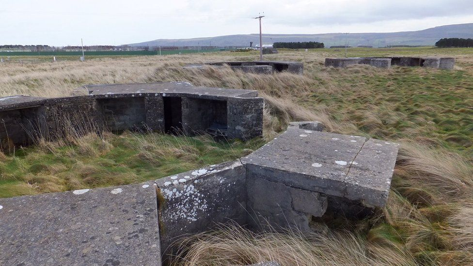 Magilligan heavy anti-aircraft battery