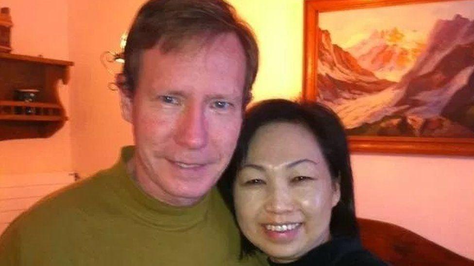 Peter Chadwick and his wife Qee Choo