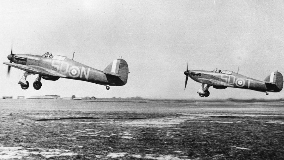 Hurricane planes