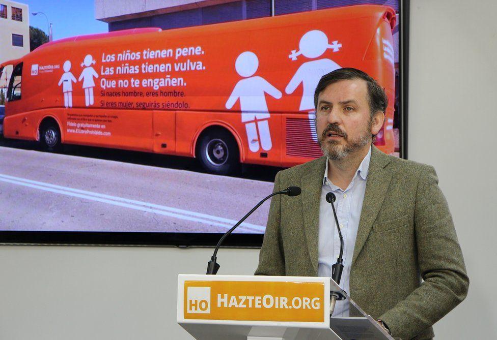 Hazte Oir president Ignacio Arsuaga says the group has a right to free speech