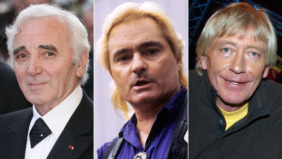 Charles Aznavour, Marty Balin and Geoffrey Hayes