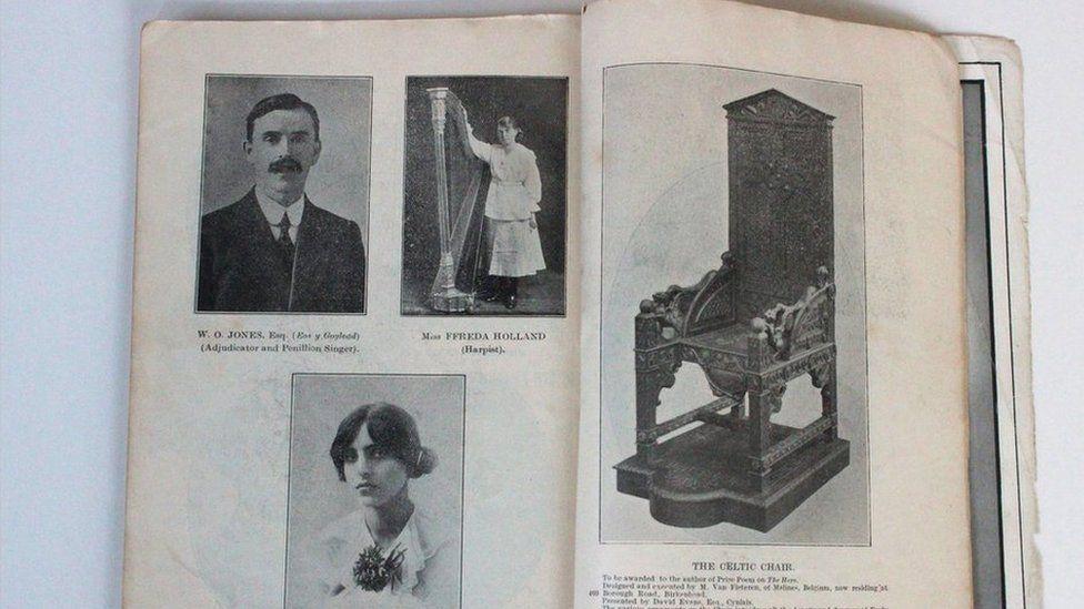 Rhaglen Eisteddfod 1917
