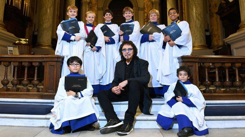 Tony Iommi and the choir