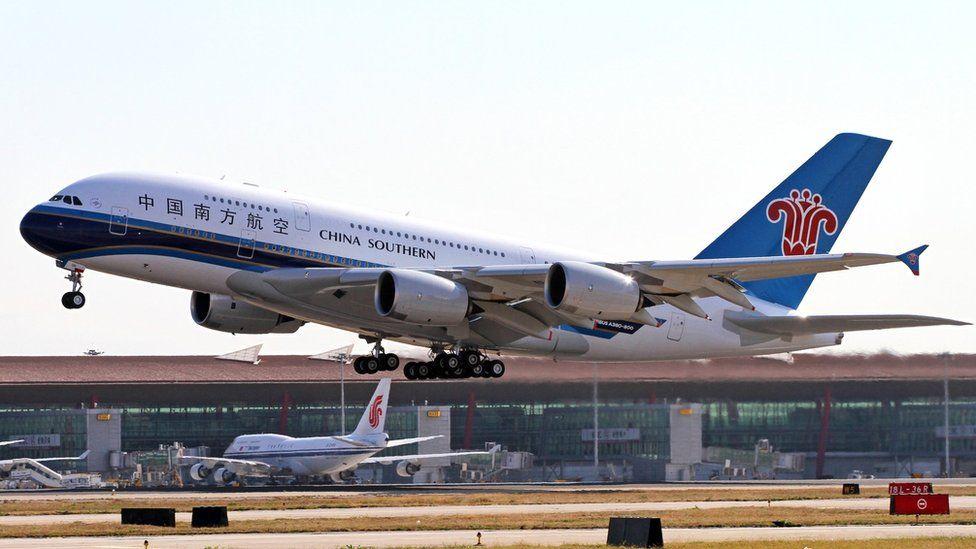 A China Southern Airbus A480