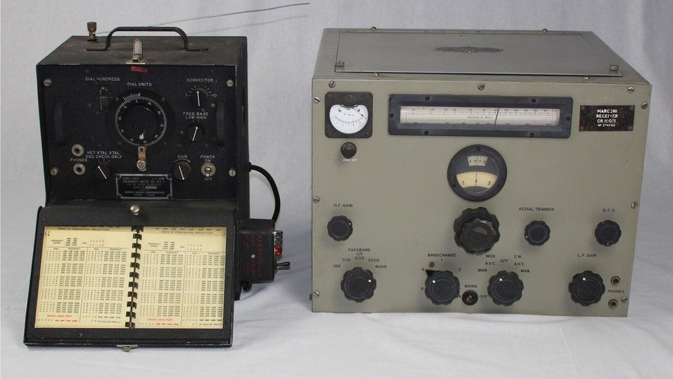some of the equipment on display