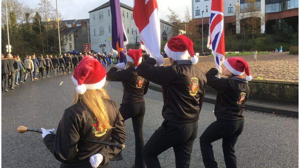 Apprentice Boys parade in Londonderry