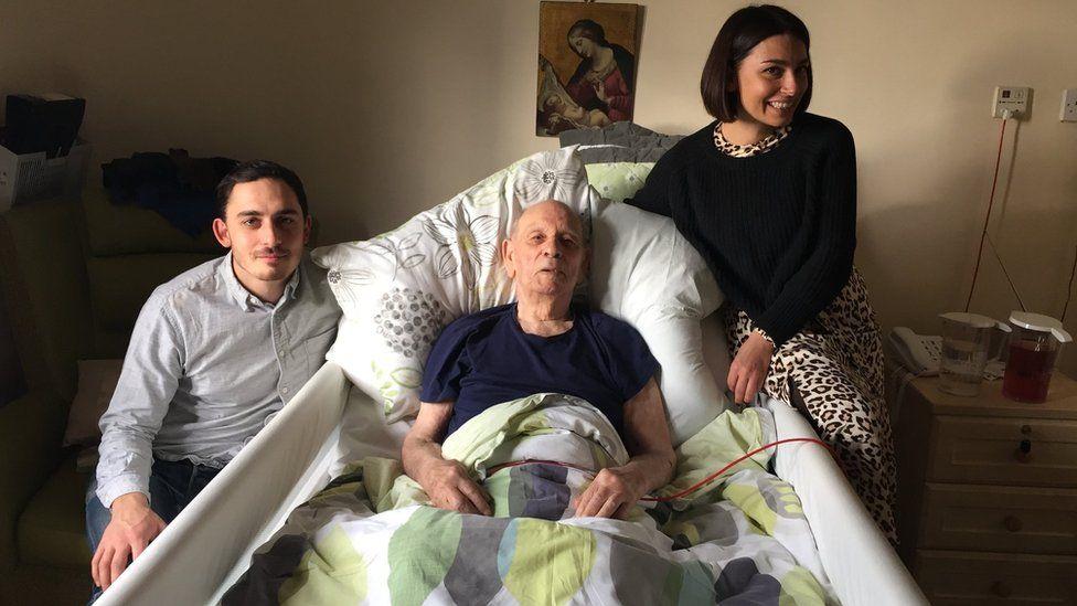 Giuseppe Casciello with his family
