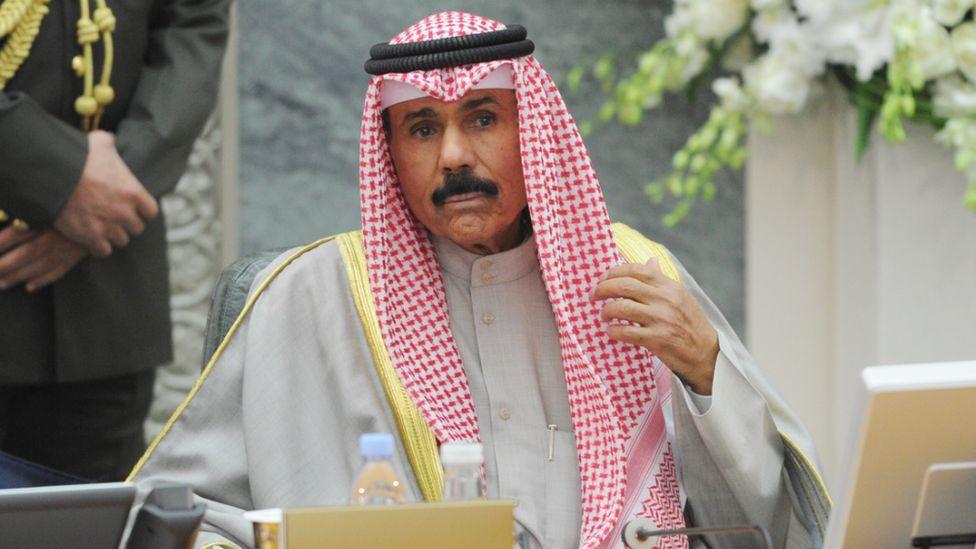 Kuwait's Emir Nawaf Al-Ahmad Al-Jaber Al-Sabah