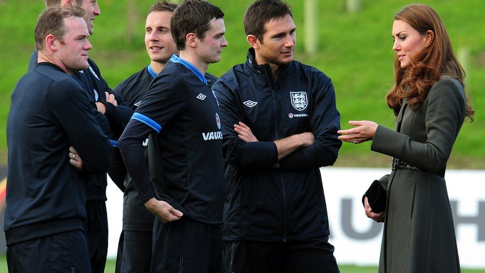 Adam Johnson at St George's Park