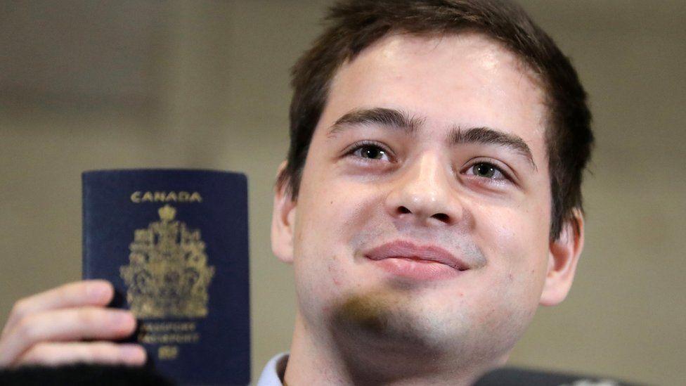 Alexander Vavilov holds a Canadian passport