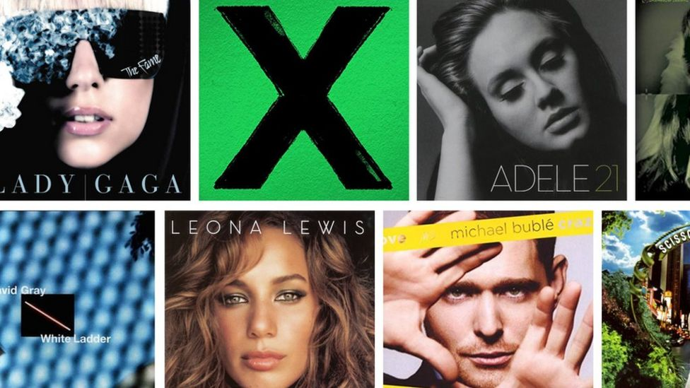 Radio 2 reveals the best-selling albums of the 21st Century