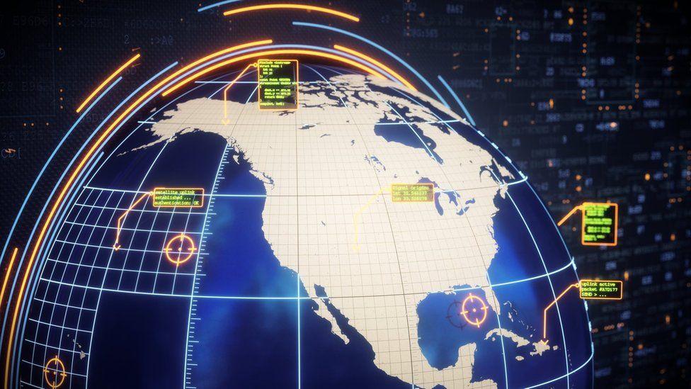 US cyber-map