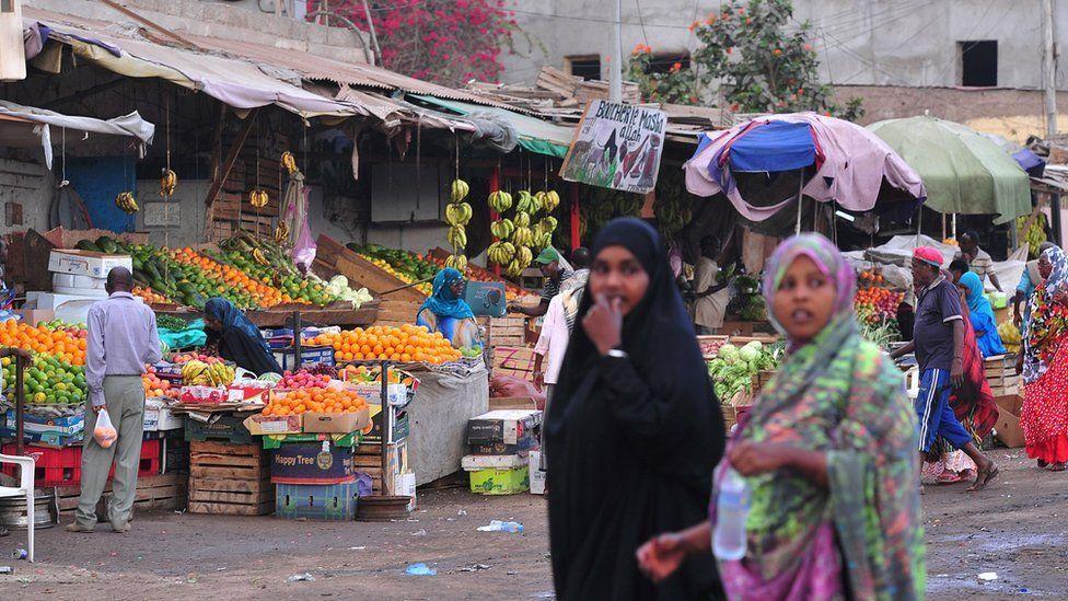 Market in Djibouti