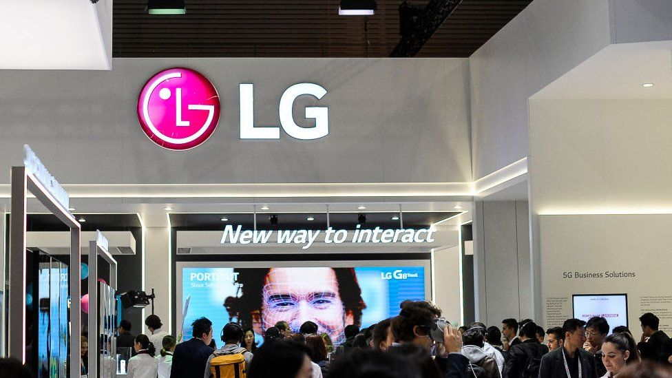LG had a prominent booth at MWC last year