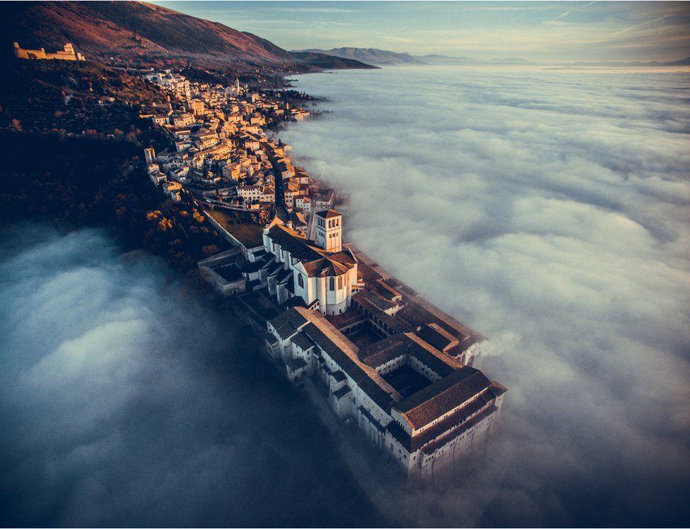 Basílica de San Francisco de Asís, Umbría, Italia