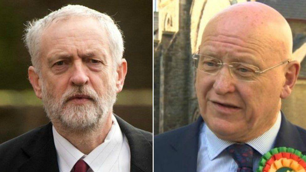 Corbyn a Williams