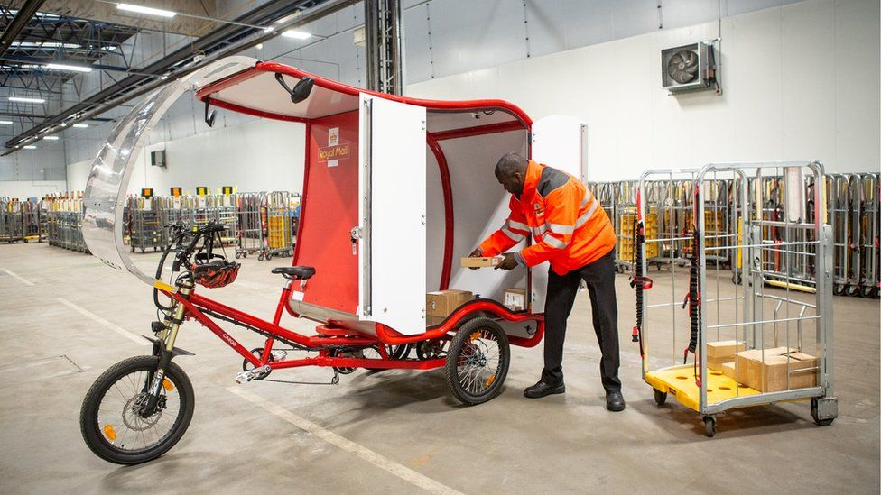 Electric trikes are being introduced by the Royal Mail