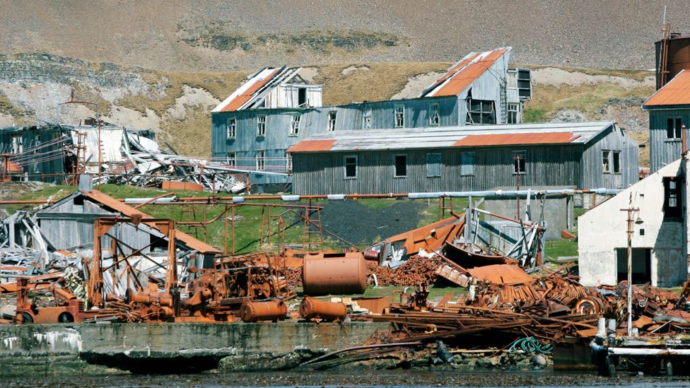 Leith whaling station