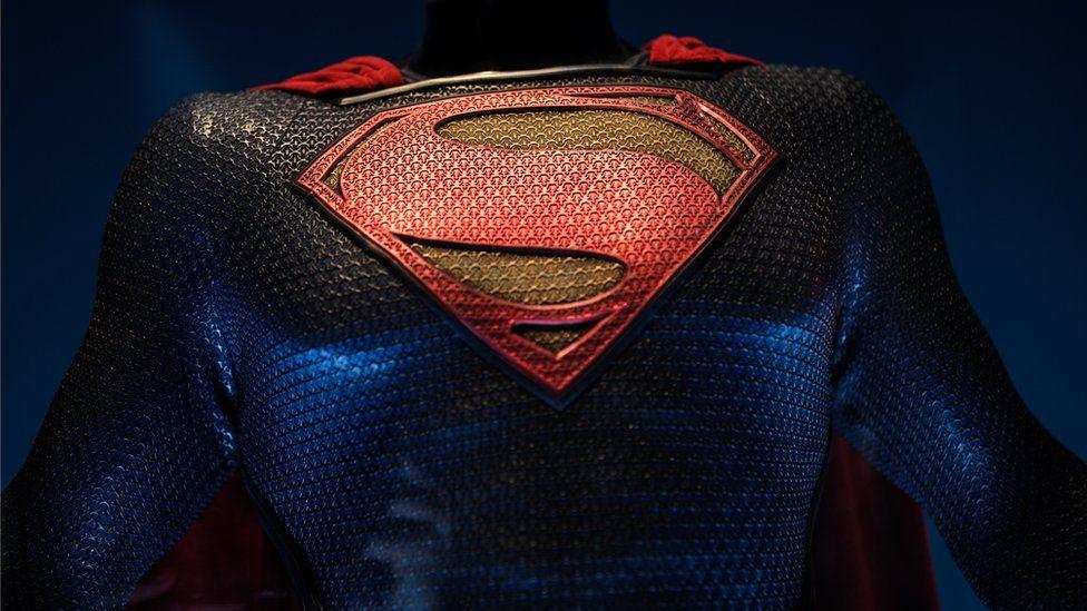 The Superman costume