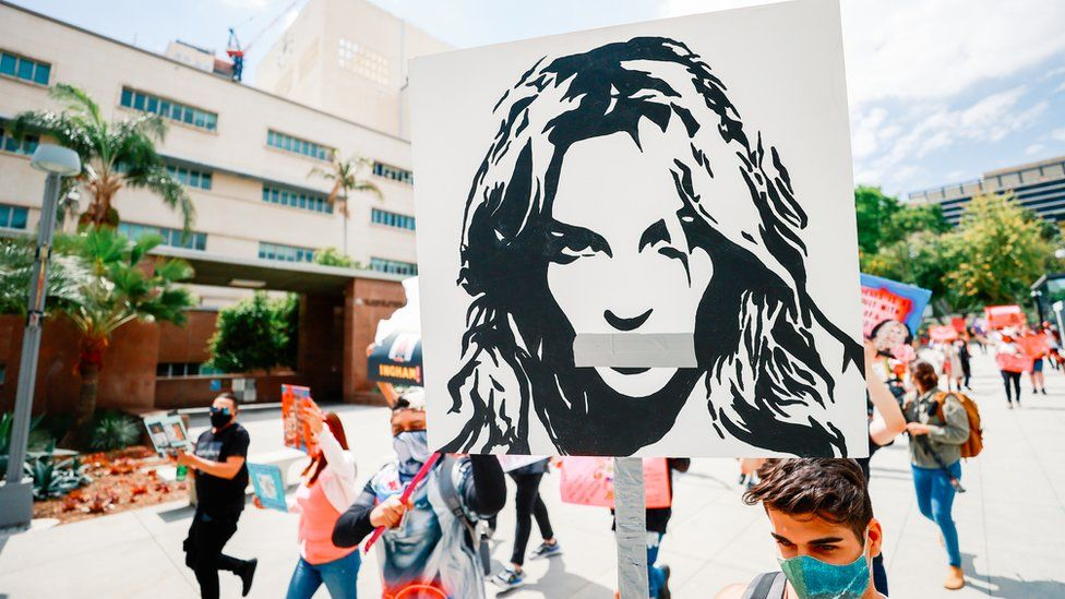 Free Britney campaigners