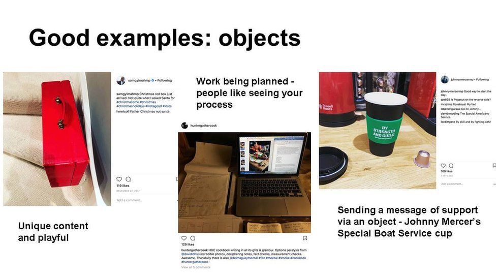Slide: good examples - objects