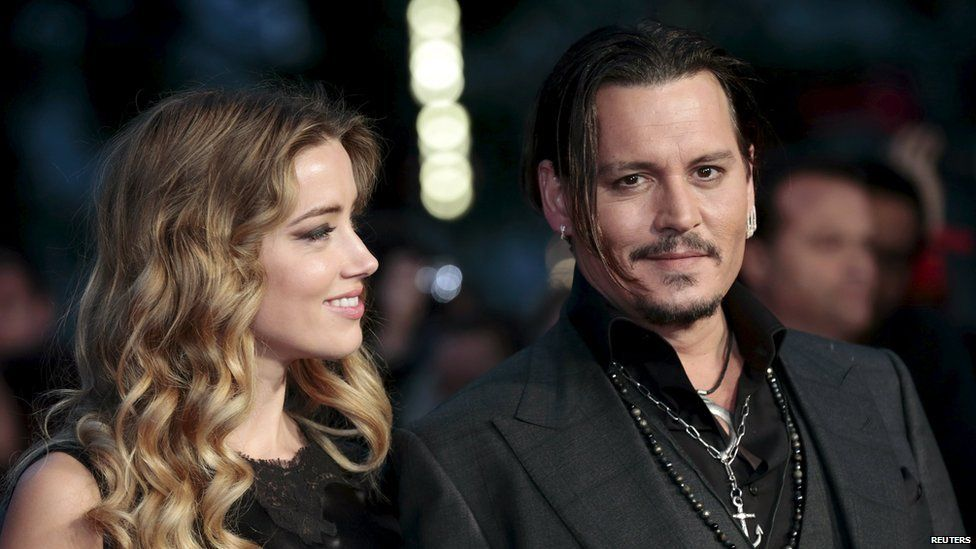 Johnny Depp was with wife Amber for the British premiere Black Mass in London